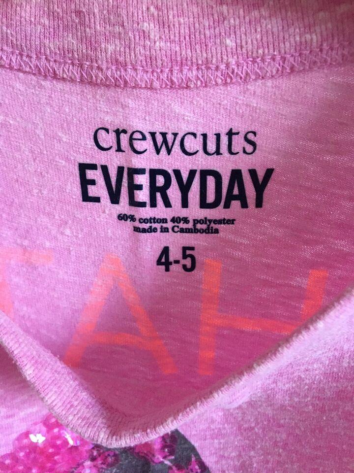 T-shirt, Med palietter, Crewcuts Everyday