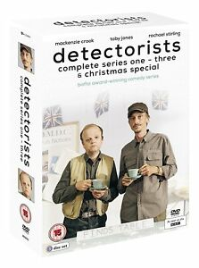 Detectorists-Series-1-3-amp-Christmas-Special-DVD-British-BBC-Comedy
