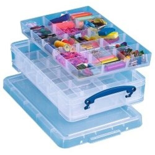 Really Useful 4 Litre Box with 2 Trays - (543857)