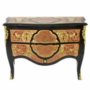 BOULLE-FRANCE-LOUIS-XIV-BOULLE-STYLE-CHEST-OF-DRAWERS-MB800