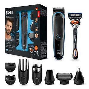 Braun-9-in-1-Precision-Beard-Body-Trimmer-Shaver-Gillette-Fusion-ProGlide-Razor
