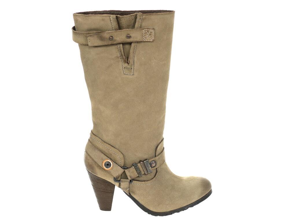 Pakros Schuhe Stiefel Artikel 42G40302 taupe Gr.36 Original Schuhe Neu OVP