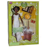 Deluxe Singing Tiana Doll Princess And The Frog Disney Store Not Perfect Box