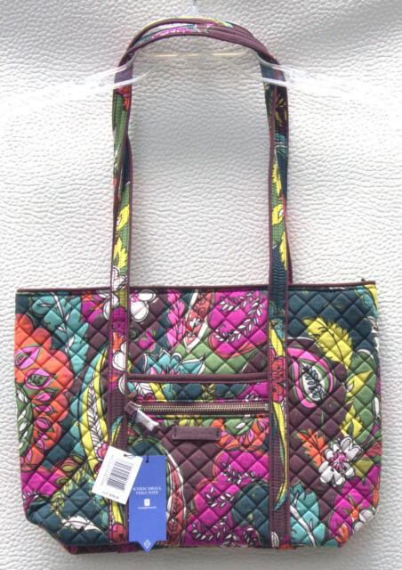 132d9e30565f Vera Bradley Iconic Small Tote Handbag Bag Autumn Leaves 22164-l10 ...