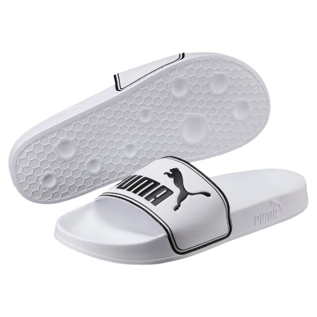 0bd3a340fdf PUMA Leadcat Unisex Adult Sandals Bath Slippers White 360263 08 EUR 48 5