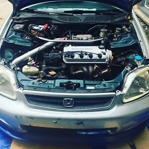 Boosted civic