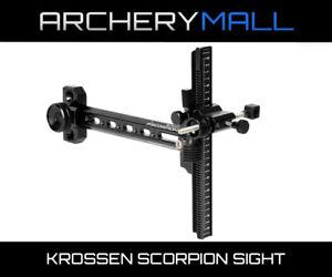 New Fivics Krossen Scorpion Archery Recurve Bow Sight Right Left Hand Aluminium