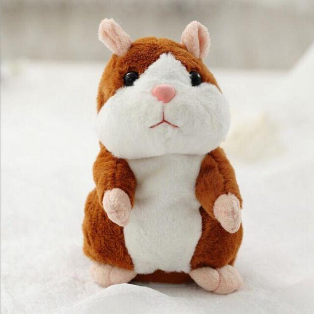 Talking Hamster Toy Mouse Pet Plush Speaking Talking Sound Recording Kids Toy