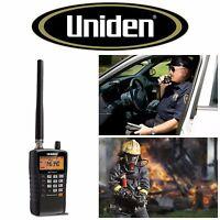 Uniden Handheld Scanner Radio Analog Police Portable Emergency Fire Marine