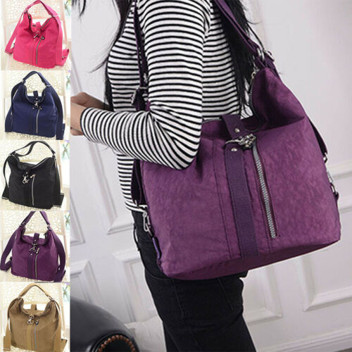 Women Multi-function Capacity Handbag Crossbody Messenger Shoulder Bag Backpack