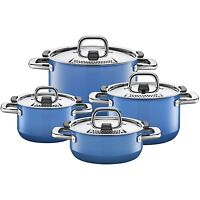 Wmf Silit Nature 8-piece Cookware Set, Nature Blue Made In Germany