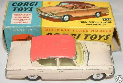 CORGI TOYS   Ford Consul Classic 315 No. 217  (R)
