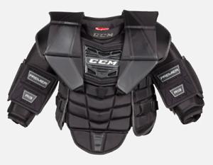 Details about  /New CCM Premier R1.9 LE Senior Hockey Goalie Chest Arm Protector SR Medium goal