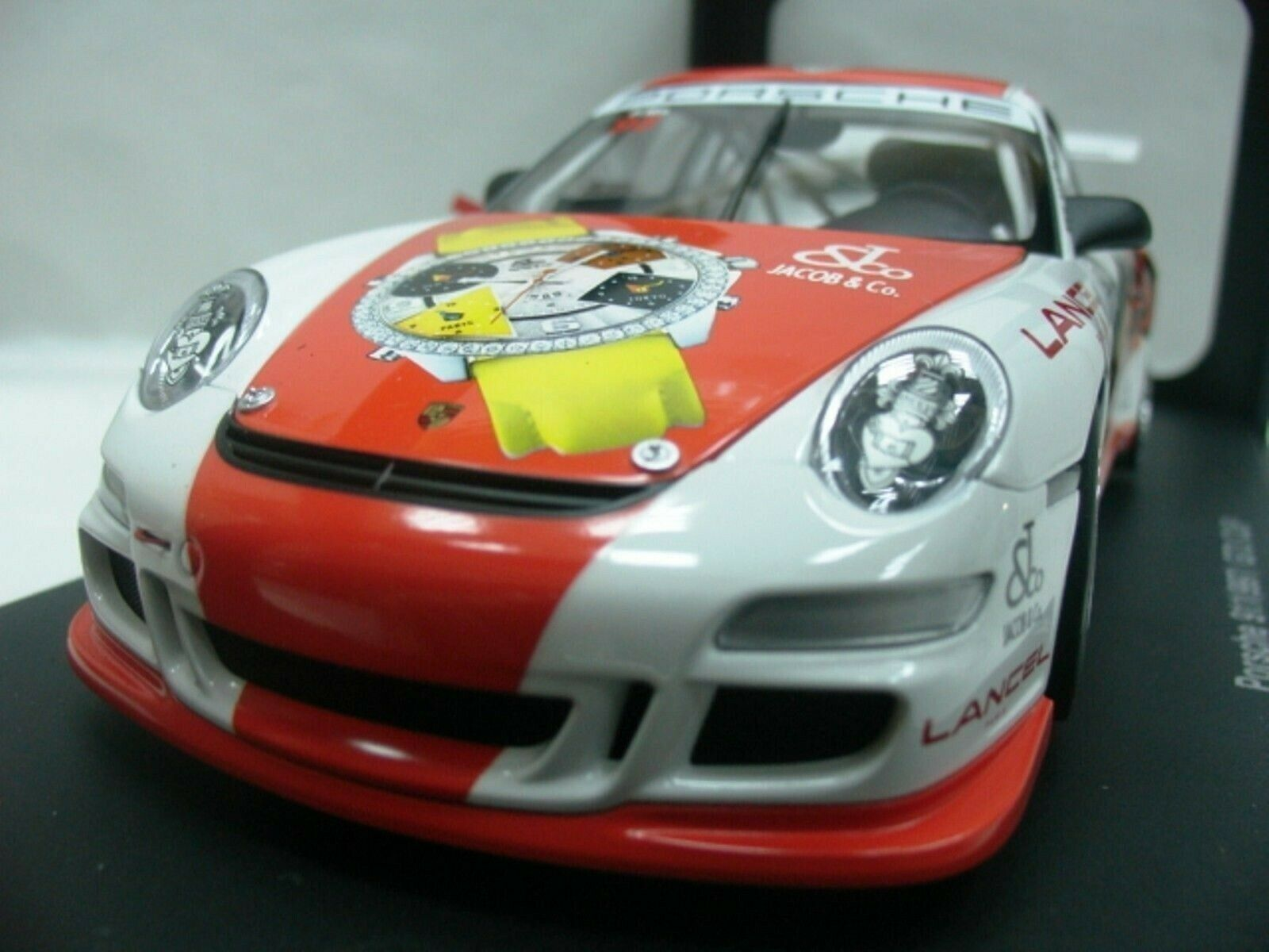 Wow extrêmement rare Porsche 997 911 GT3RS PH ma Zhuhai 2006 1 18 AUTO Art-996 GT2