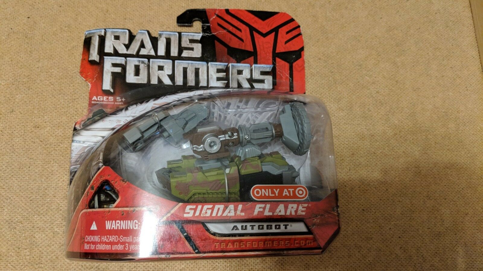 SIGNAL FLARE Transformers 1 Movie 4  inch Scout Class Autobot Figure Target 2007