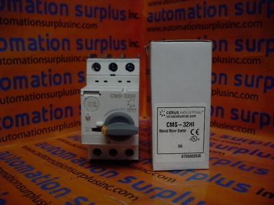 CERUS industrielle CMS-32HI 17 A 3PH 15HP Manual MOTOR STARTER nouvelle Quantité!!!