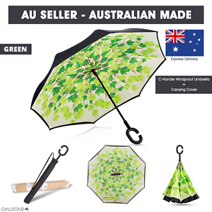 Upside-Down-Windproof-Inverted-Reverse-C-Handle-Folding-Umbrella-With-Carry-Bag