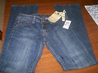 Nwts Seven 7 Premium Women's/junior 28/5 Stretch Blue Label Flare Jeans.reduced