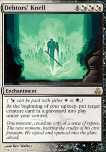 1x Debtors/' Knell Moderate Play English Guildpact MTG Magic