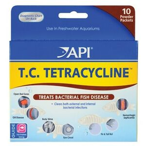 api t c tetracycline treats bacterial fish disease