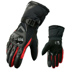 Inverno-moto-Guanti-Inverno-Pioggia-Racing-Moto-Guanti-dimensioni-L-XXL