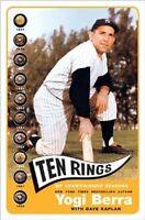 Ten Rings - Yogi Berra - Hc W/dj 1st Print 2003 - York Yankees