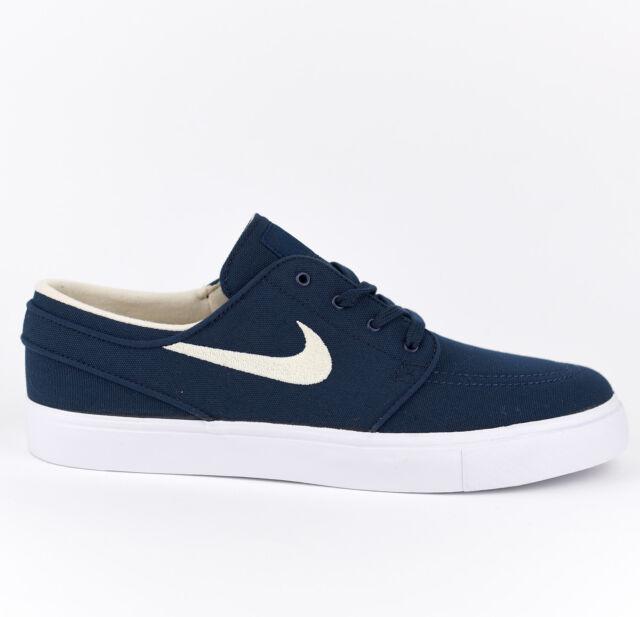Nike Zoom Stefan Janoski CNVS Canvas SB Men Skate Shoes New Obsidian 615957 405