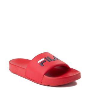 red fila slides \u003e Clearance shop