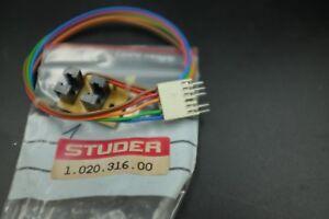 STUDER-1-020-316-00-Tape-Counter-Move-Sensor-PCB-C270-C274-C278-PR99-NEW-NOS