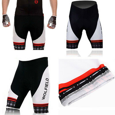 Cycling Clothing Bicycle 3D Silicone Padded Riding Shorts Pants S-3XL For Men