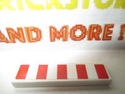 Lego 1x Tile plaque lisse decorated 1x4 vehicle car Pattern Sticker 2431pb150
