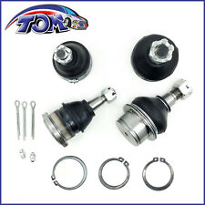 BRAND NEW 4PC BALL JOINTS UPPER LOWER CHEVY SILVERADO ESCALADE AVALANCHE TAHOE