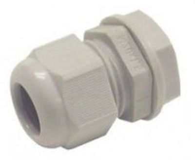 M20 IP68 20MM WHITE BLACK GREY WATERPROOF COMPRESSION CABLE GLAND LOCKNUT WASHER