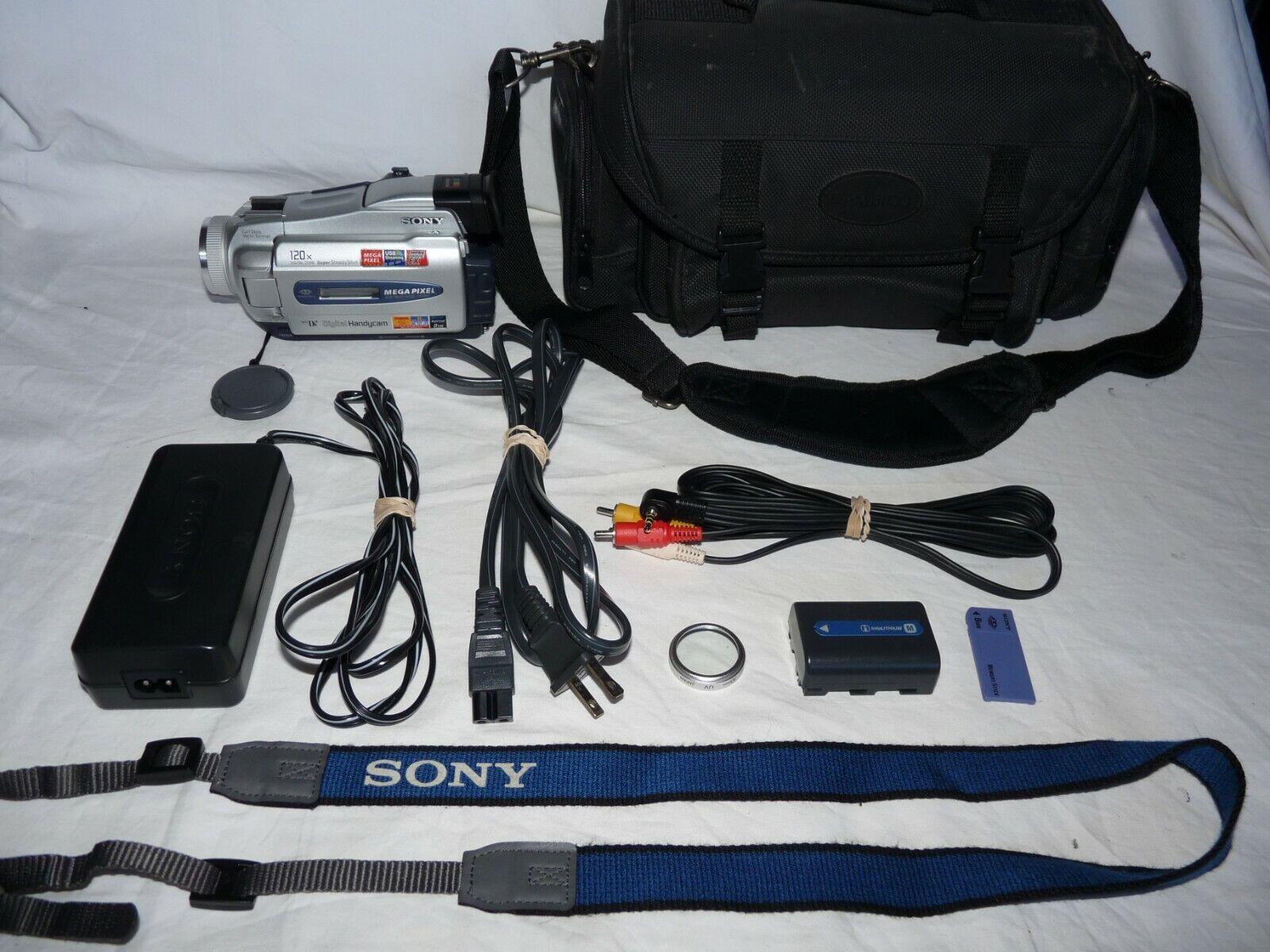 s l1600 - Sony Handycam DCR-TRV25 MiniDv Mini Dv Camcorder Player Camera Video Transfer
