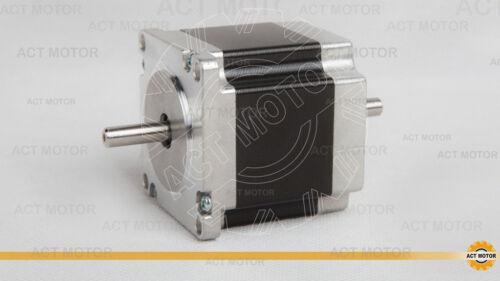 Act motor GmbH 1pc nema 23 stepper motor 23hs6620b 2a 56mm 1.26nm 6 lead φ 6.35mm