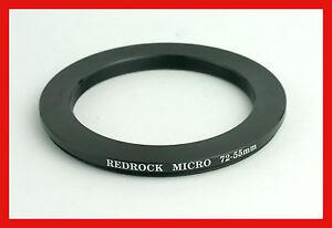 @ *GENUINE* RedRock RedRockMicro STEP DOWN 72mm to 55mm RING [ 55 -> 72 ] @