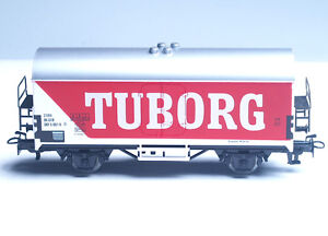 4536-MARKLIN-HO-DSB-Danish-BEER-car-034-TUBORG-034