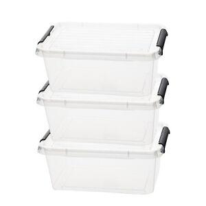 3-x-Aufbewahrungsbox-mit-Deckel-Kunststoffboxen-Box-Boxen-Stapelboxen-4-5-L