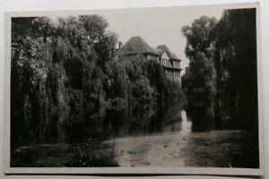 499-Antica-Cartolina-Kehl-Le-lac-e-l-039-Ecole