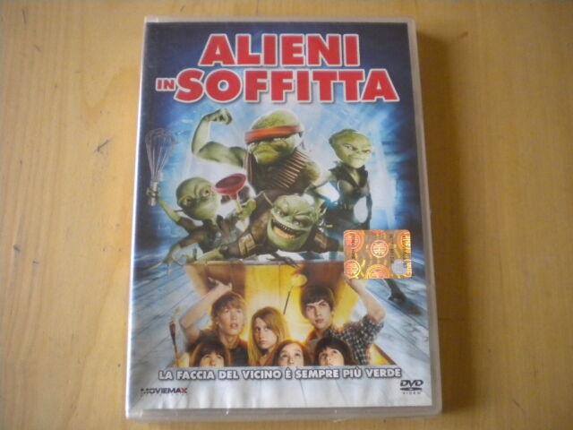 Alieni in soffittajohn schultz DVD commedia bambini lingua italiano inglese 2