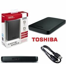 HARD DISK ESTERNO 2,5 USB 3.0 2TB TOSHIBA AUTOALIMENTATO CANVIO BASICS