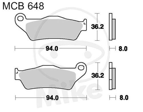 TRW Lucas Bremsbeläge MCB648SI vorne KTM EXC 525 Racing