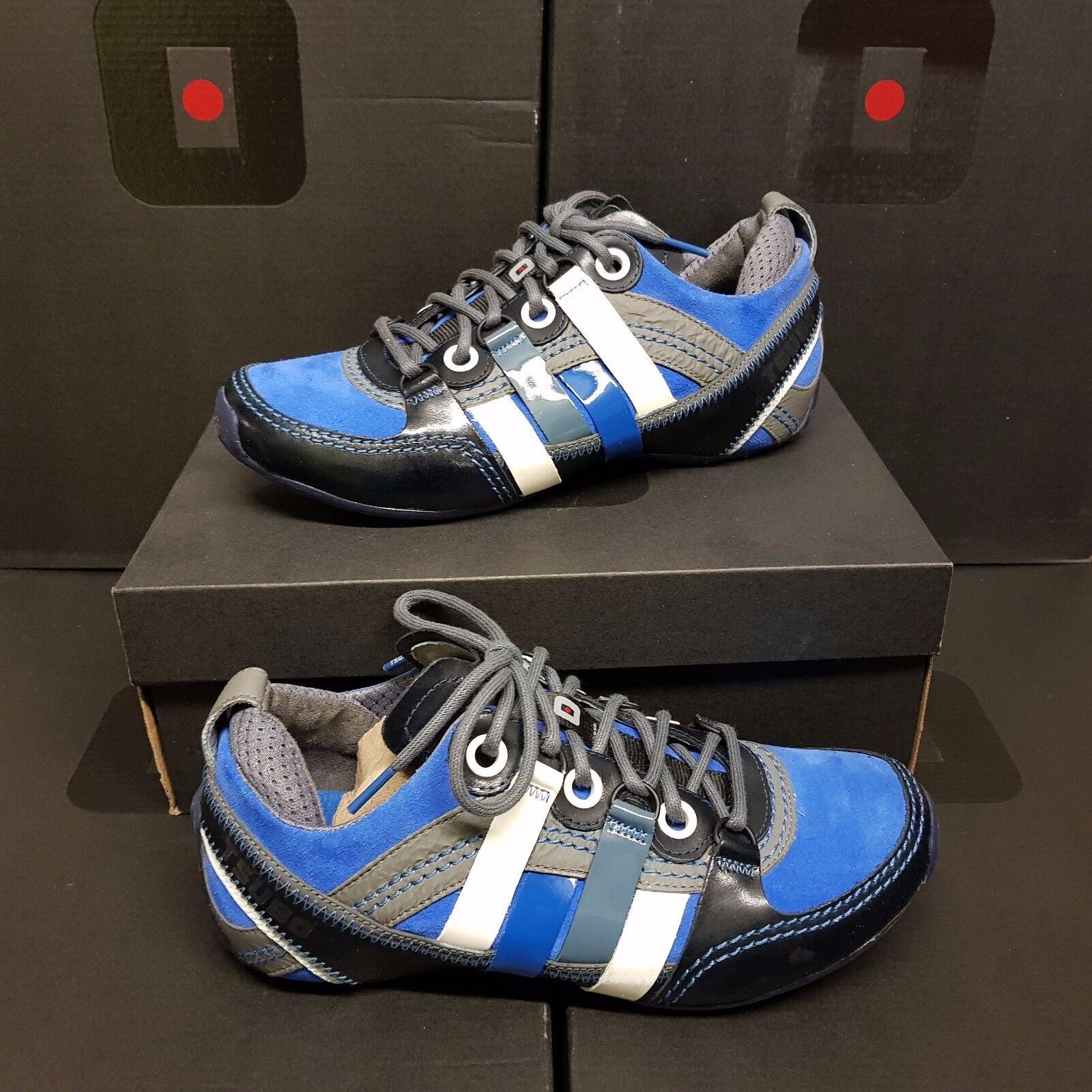 TSUBO  Tycho  Men's zapatillas zapatos Cuir azul US 8.5 (rrp )