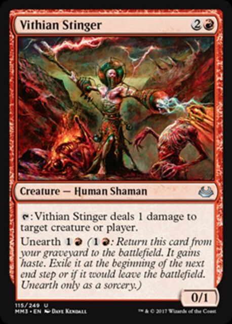 MTG Magic - (U) Modern Masters 2017 - Vithian Stinger - NM