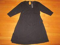 Moody Mamas Black Maternity Dress Size Xl