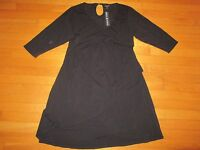 Moody Mamas Black Maternity Dress Size Xl