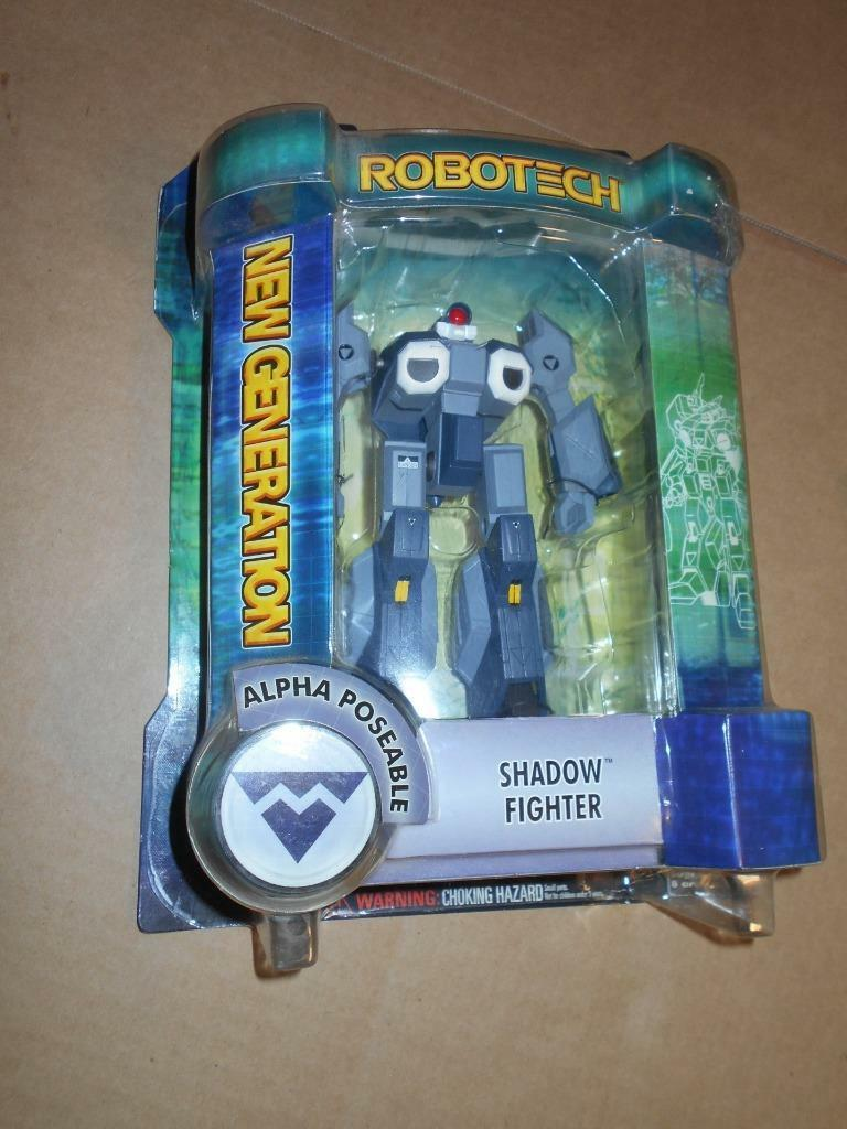 Robotech Action Figure Shadow Fighter Metallic Edition