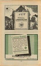 "ADVERT "" Mini Poster "" Vineyard Wine La Maison du Vin Castell Barria Mitjavile"