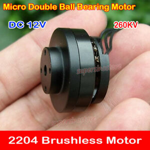 sale uk crazy price size 7 Details about Micro 4S PTZ 2204 Brushless Motor Outer Rotor Ball Bearing  For RC Drones 260KV