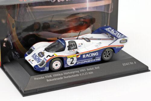 Porsche 956k #2 rekordrunde bucle del norte 6.11,13 min 1000km nurburgring 1983 be